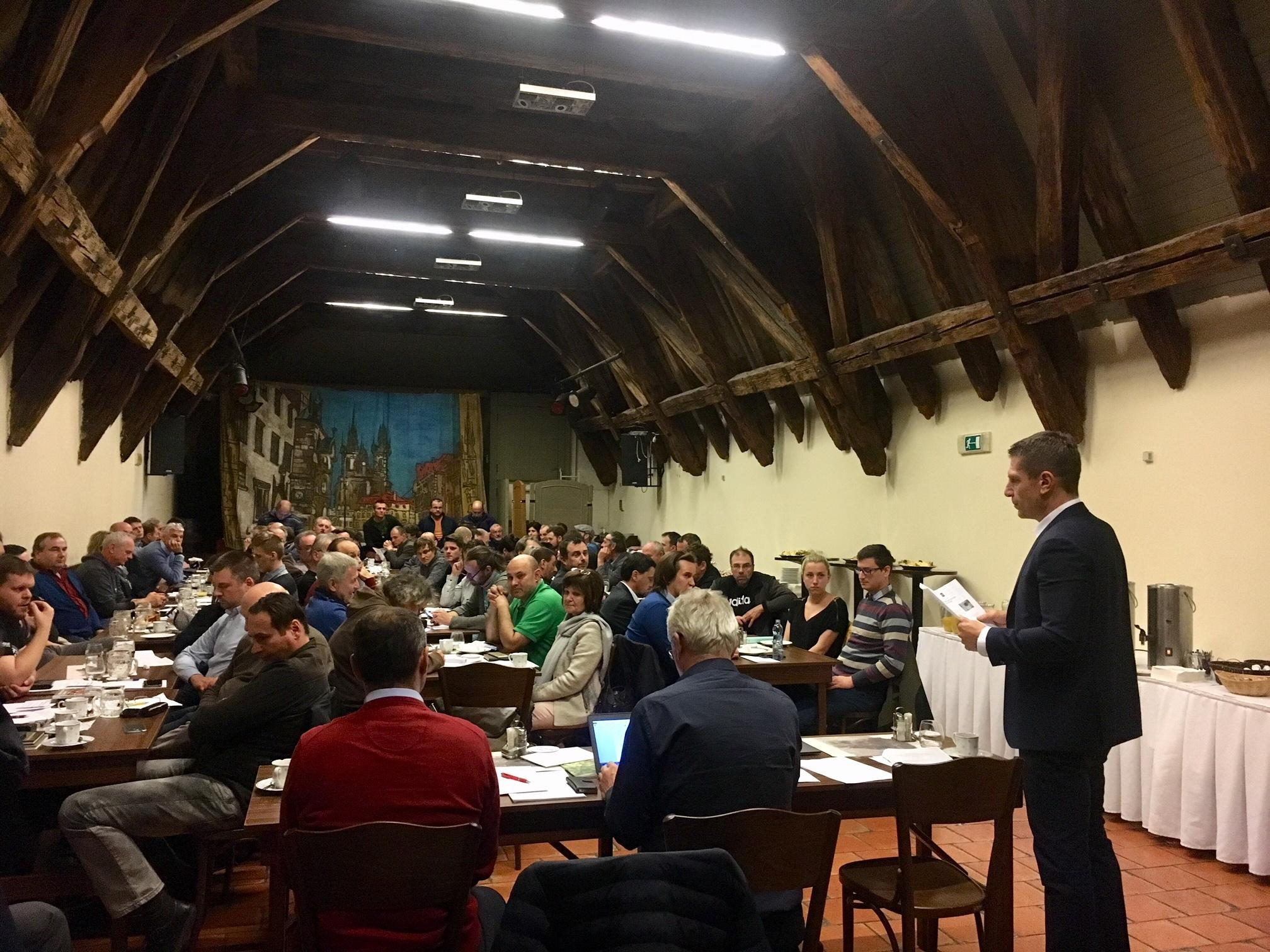 We took part in the General Meeting of the Czech and Moravian Microbreweries Association 1