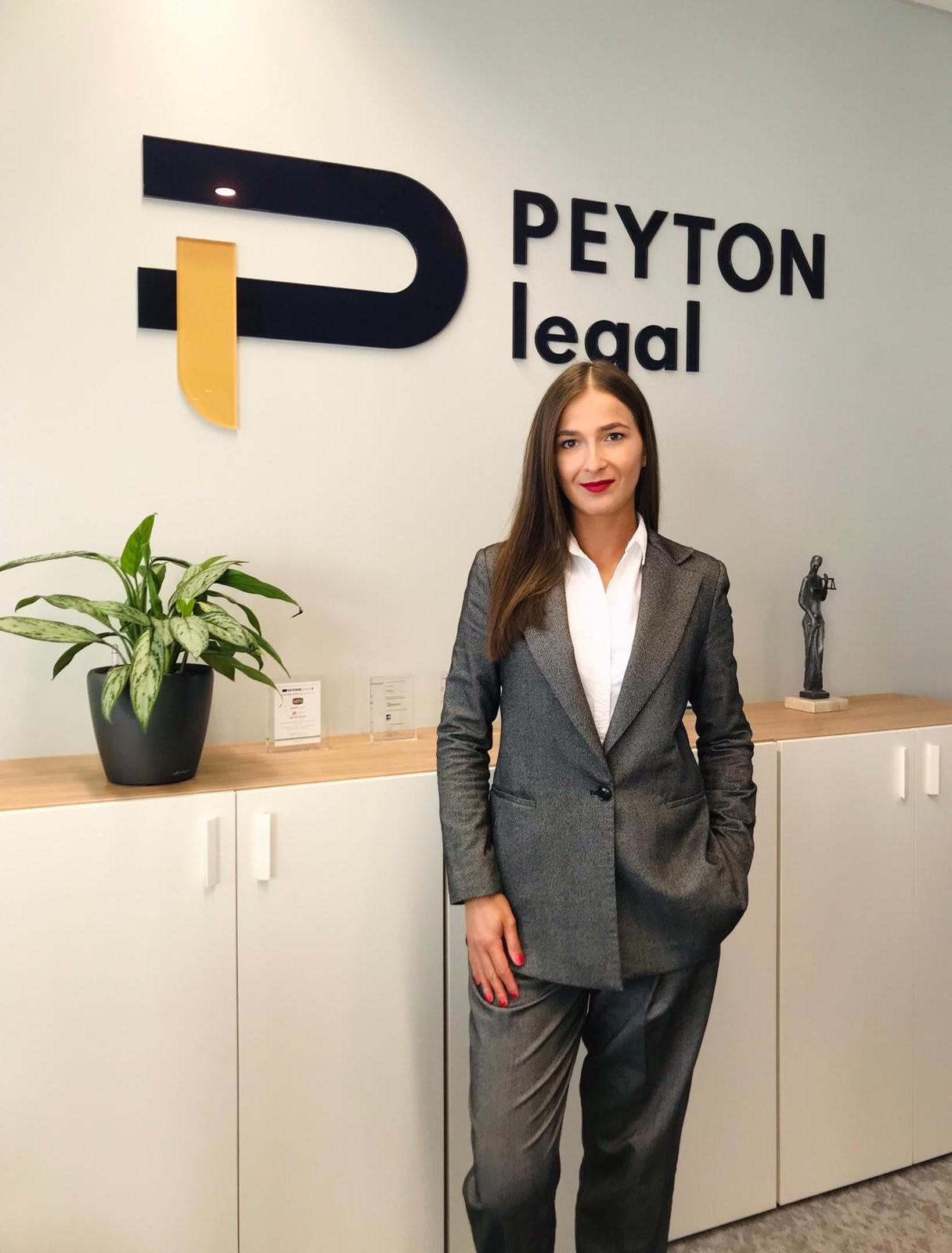 Nikol Čišecká - new junior lawyer of PEYTON legal 1
