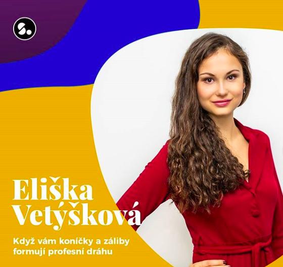 Eliška Vetýšková hostem virtuálního setkání Startujeme 1
